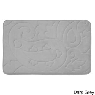 Pelton Micro Plush 20 X 32 Inch Memory Foam Bath Mat With