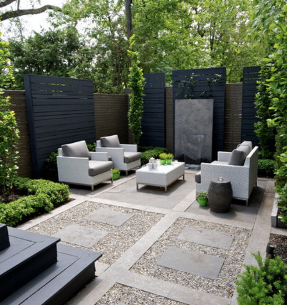 Small Backyard Landscaping, Modern
