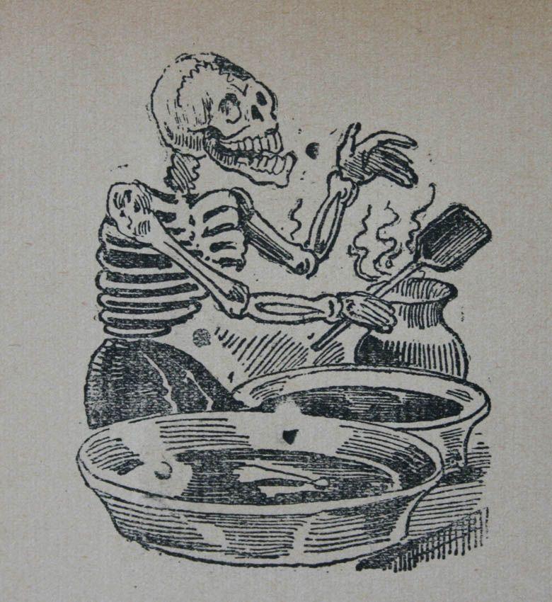 José Guadalupe Posada, Gran mole de calaveras,