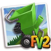 L'Oasi nel Deserto: Trucco Farmville2: Cippatrice verde per legno