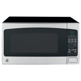 Ge 2 Cu Ft 1200 Countertop Microwave Stainless Steel Lowes Com