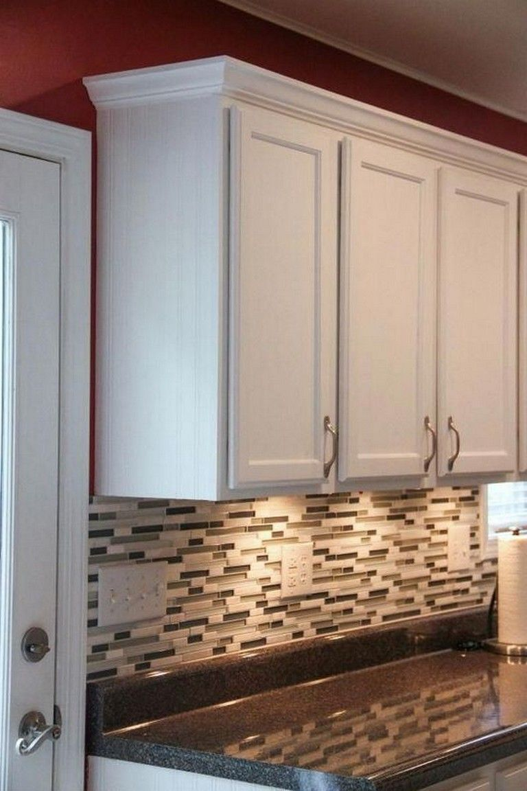 there are some ways crown molding can be added to improve the total appearance of your kitchen on kitchen cabinets trim id=60555