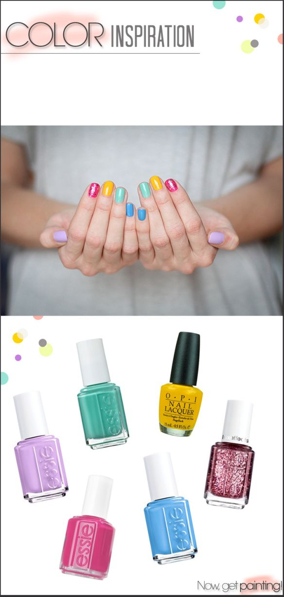 Do Manicures?? Rainbow Manicure by Miss Renaissance