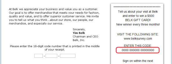 Belk Customer Satisfaction Survey WwwBelksurveyCom  Customer