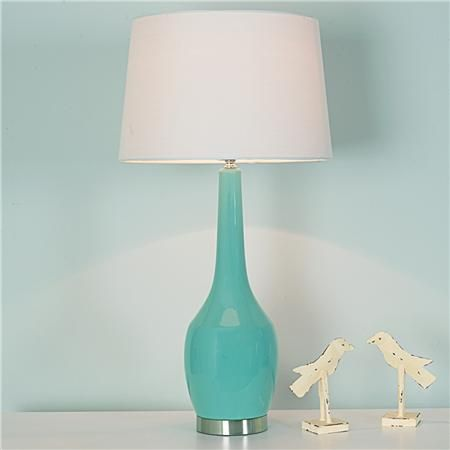 Long Neck Ceramic Table Lamp