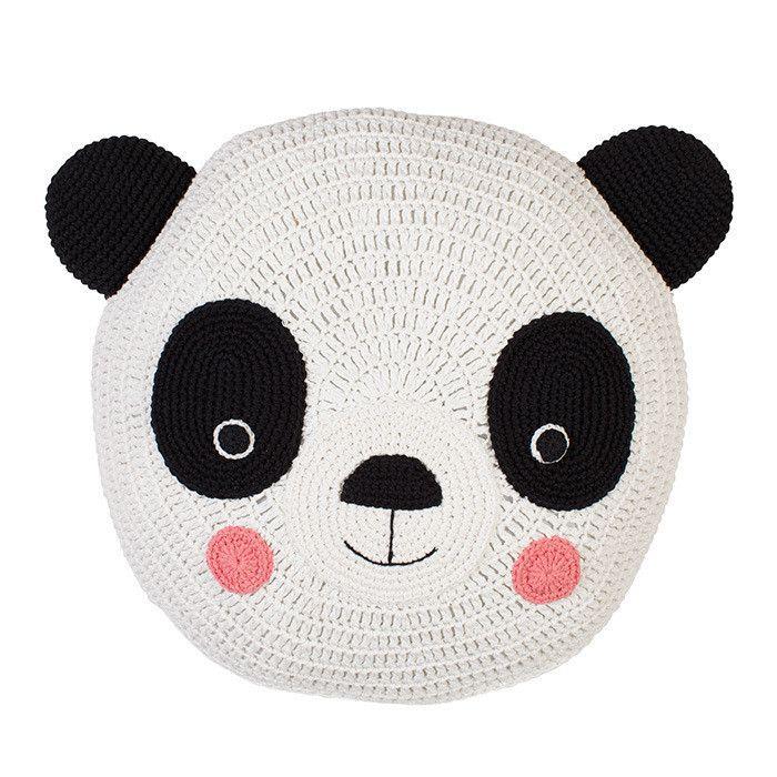 Crochet Panda Snuggle Cushion | DIY Häkeln - Pandabär | Pinterest ...