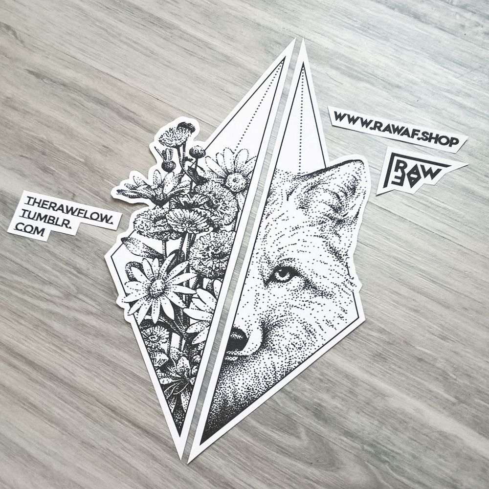 Tattoo Designs Up For Grabs: Custom Dotwork Tattoo Design Up For Grabs On RAWAF.shop