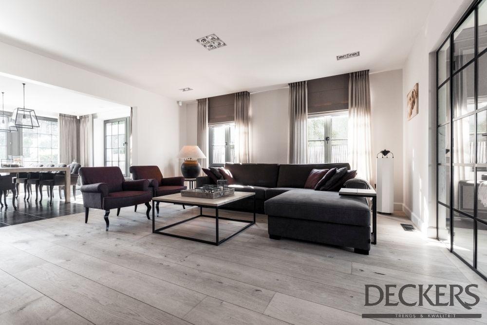 Totaaladvies van Deckers Interieur met raamdecoratie combinatie ...