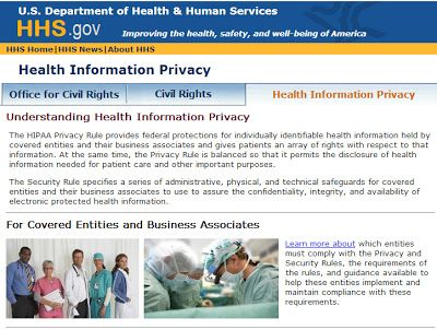Hipaa The Health Insurance Portability And Accountability Act