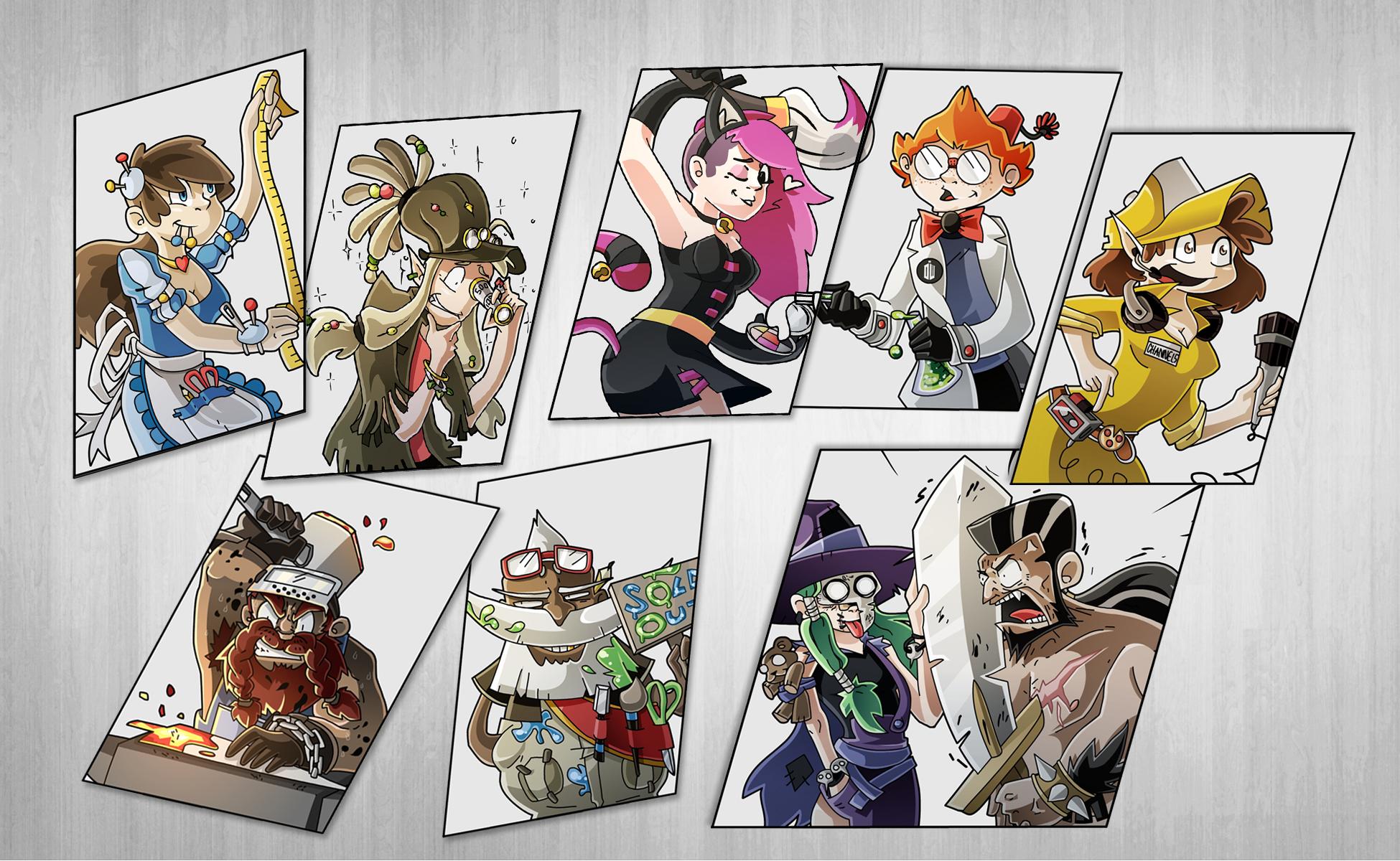 Pour un futur projet lié au cosplay.