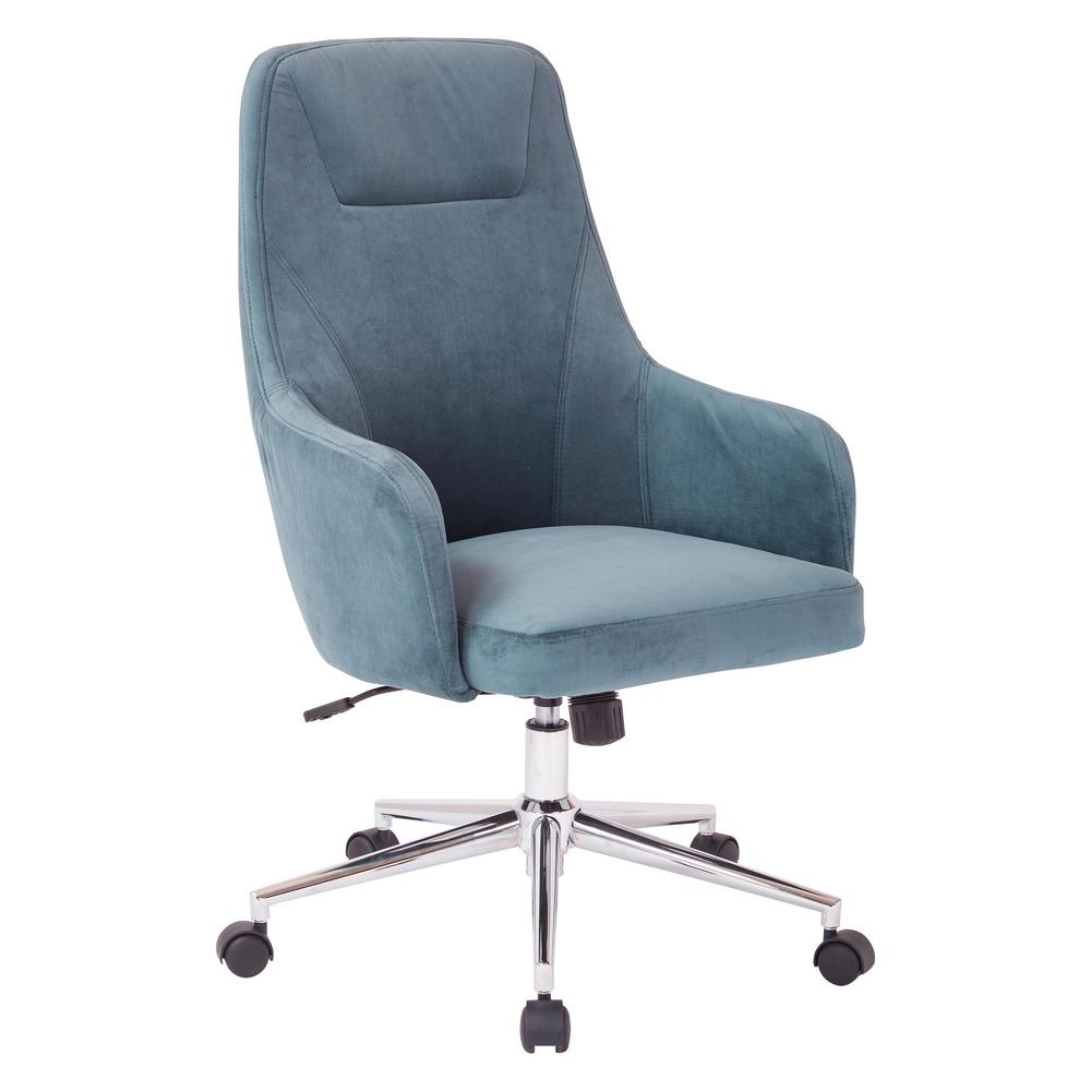 Osp Home Furnishings Marigold Desk Chair Sb523sa B20 The Home Depot Office Chair Desk Chair Luxury Office Chairs