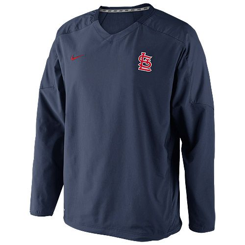 finest selection a4d6c 5871e St. Louis Cardinals Dri-FIT Staff Ace Windshirt by Nike - MLB.com Shop