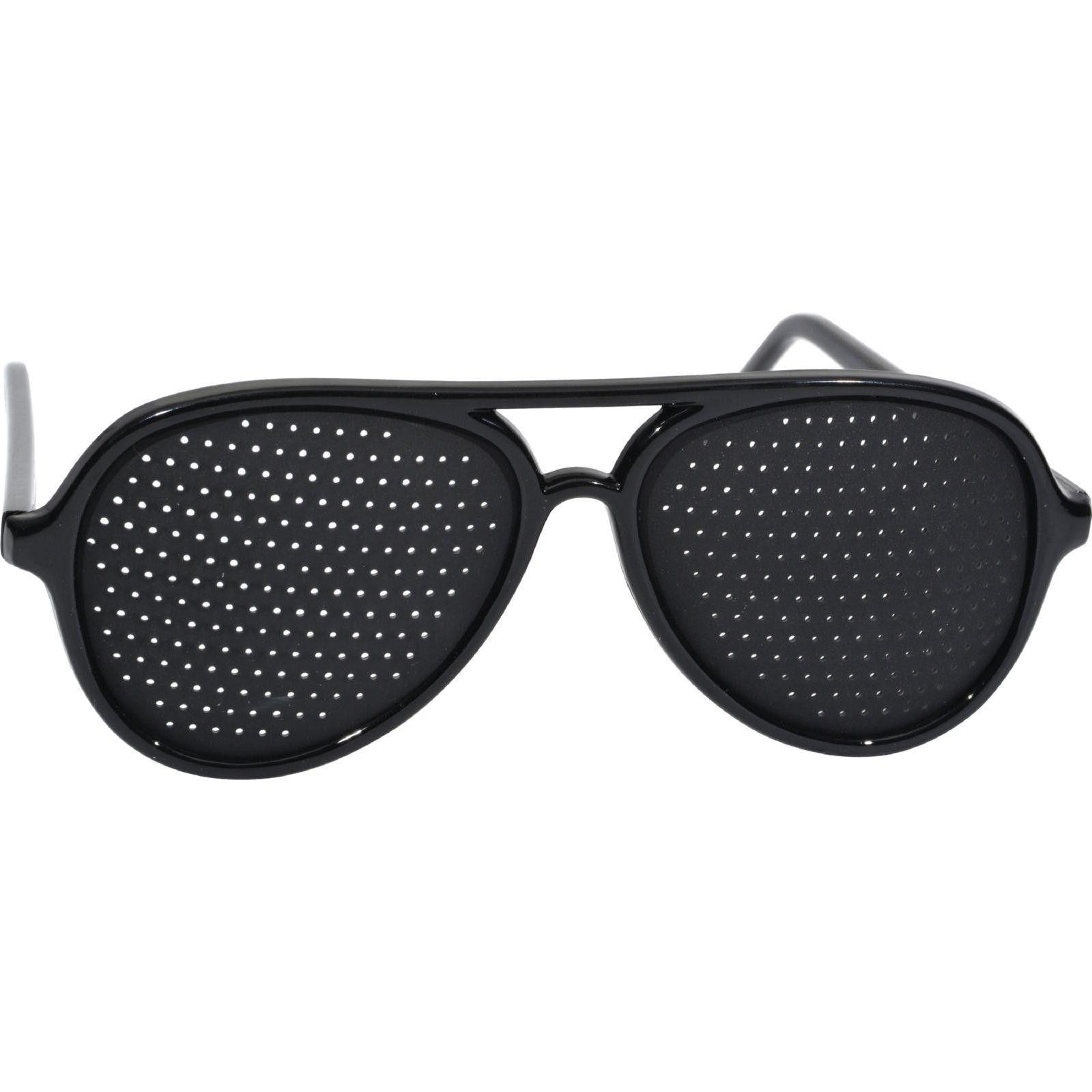Heritage Products Pinhole Glasses Full Frame Black 1