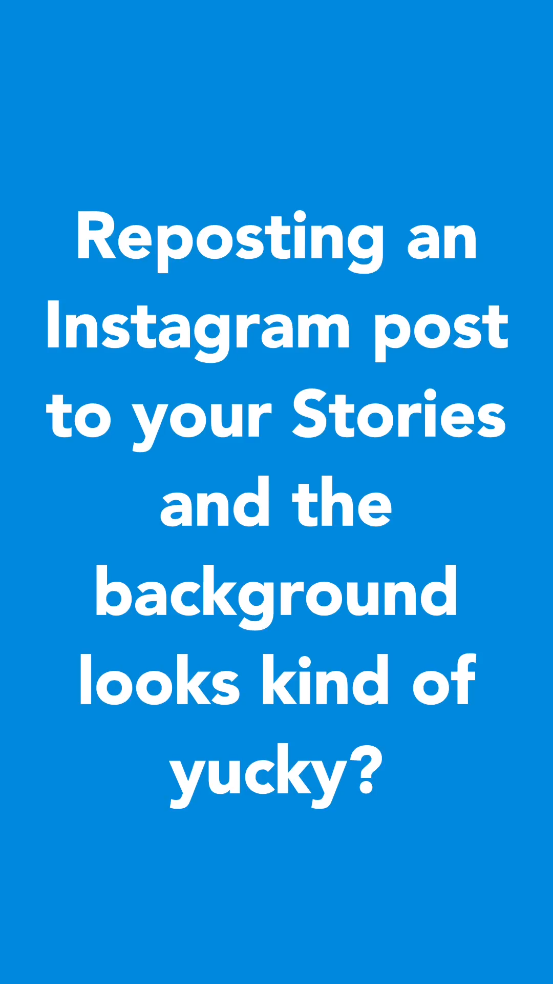 Change Instagram Story Background Color Video Video Video