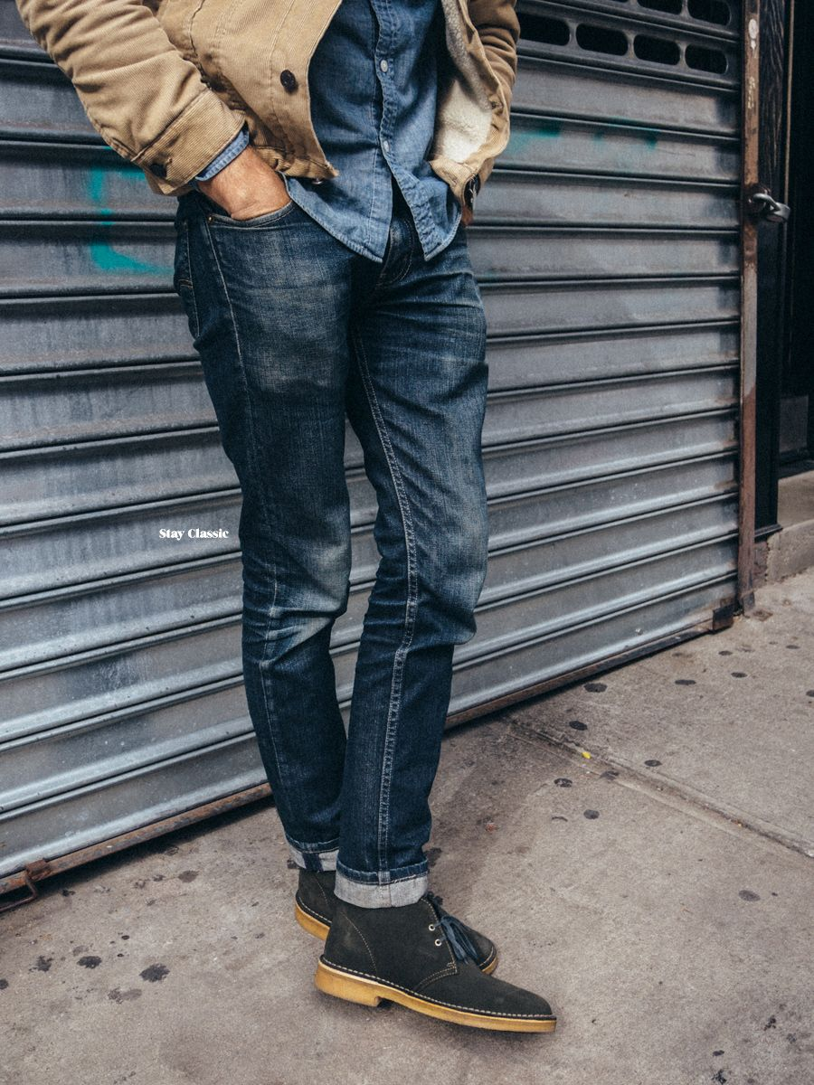 Fall with the Clarks Desert Boot