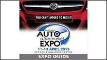 Coming up! Australian Auto Aftermarket Expo at the Centre. 11-13 April, 2013.