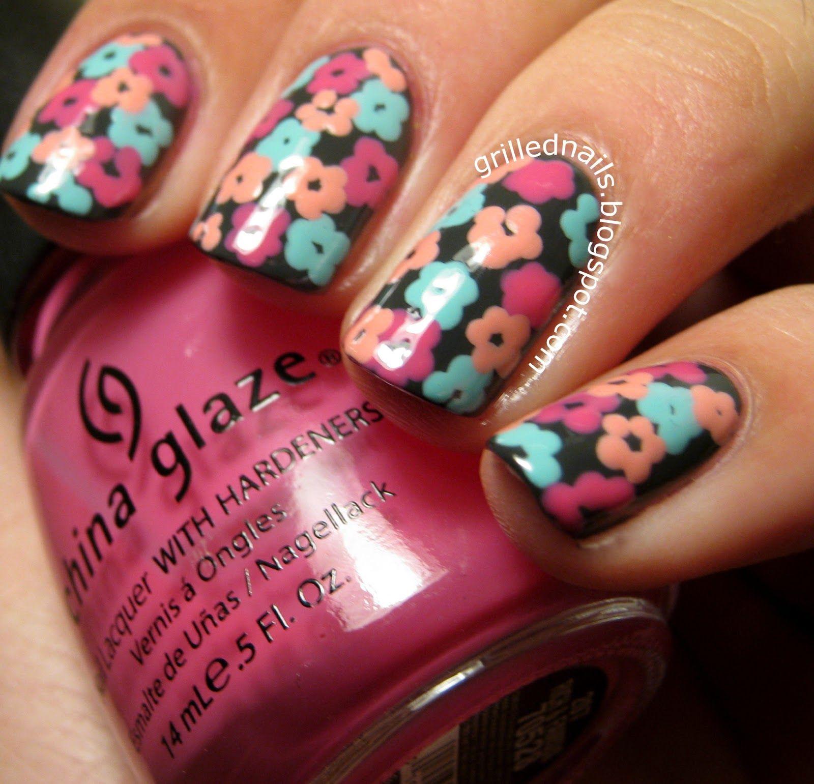 Grillednails blog hector alfaro grilled nails flower manicure nail grillednails blog hector alfaro grilled nails flower manicure nail art flowersg 16001541 pixels nail art ideas pinterest solutioingenieria Choice Image