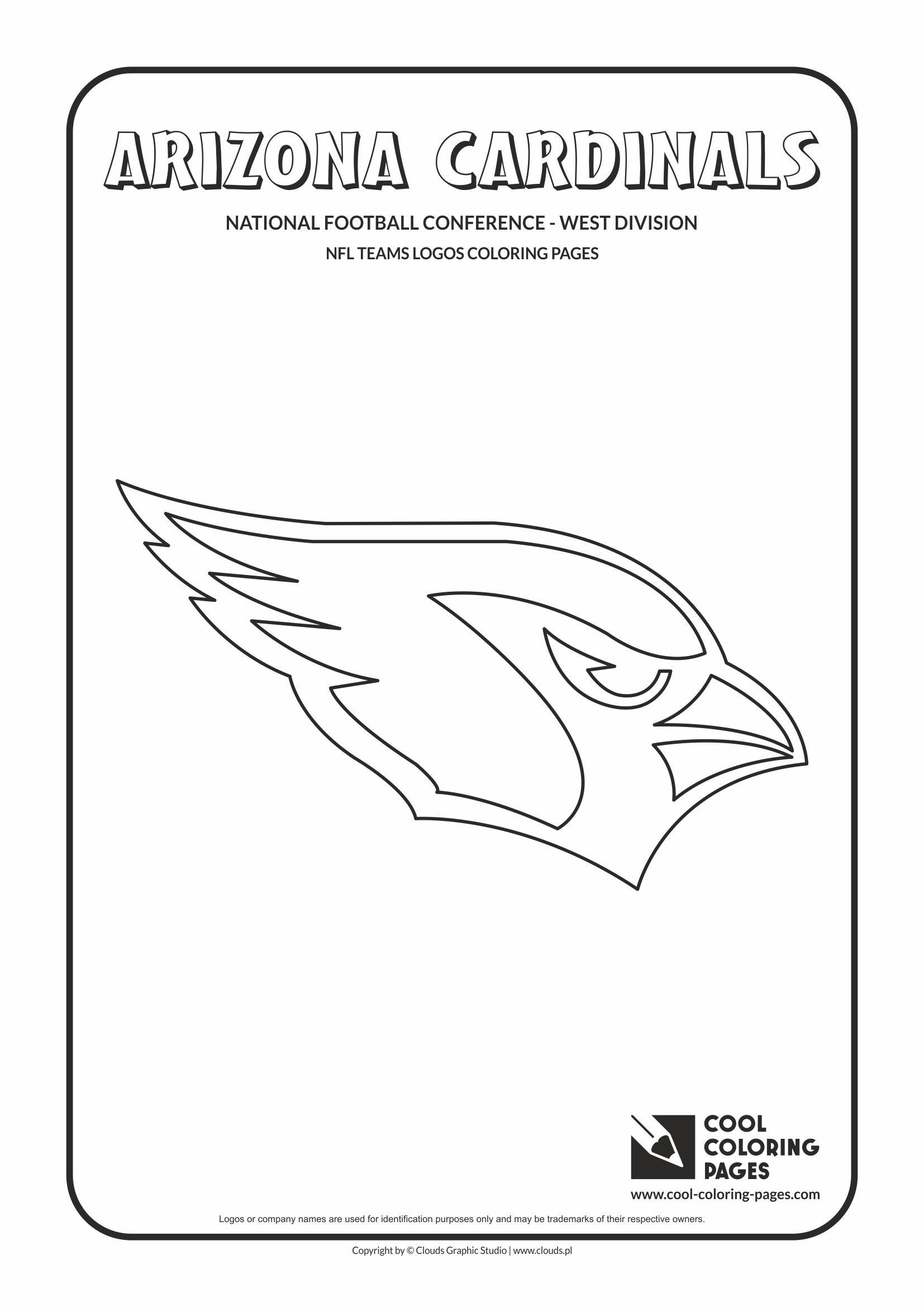 Arizona Cardinals Coloring Pages Cool Coloring Pages Arizona Cardinals Nfl American In 2020 Football Coloring Pages Sports Coloring Pages Cool Coloring Pages