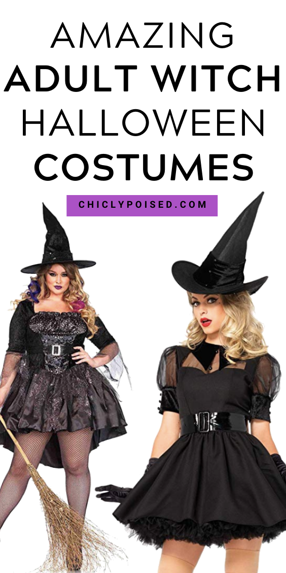 The Witchiest Adult Witch Halloween Costumes No DIY
