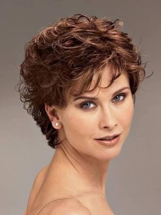 Image Result For Permed Hairstyles For Thin Hair Short Curly Hairstyles For Women Curly Hair Women Short Curly Haircuts