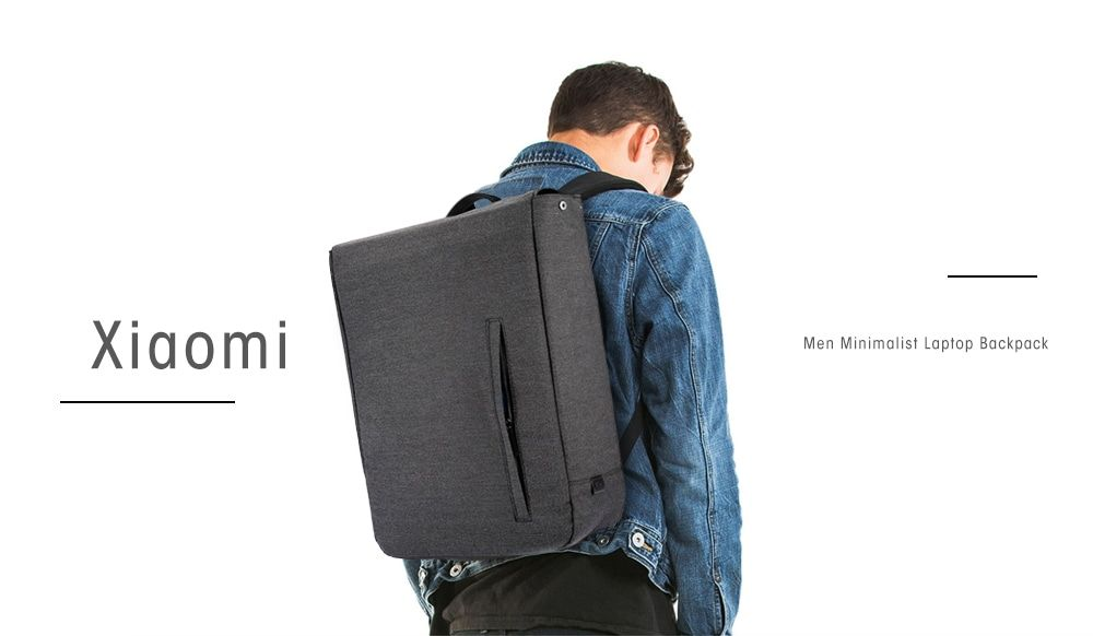 2c3a6a6989a6 Xiaomi Men Minimalist Unique Laptop Backpack - Bought this in January 2018  £12 from Gearbest. Fits 15.6