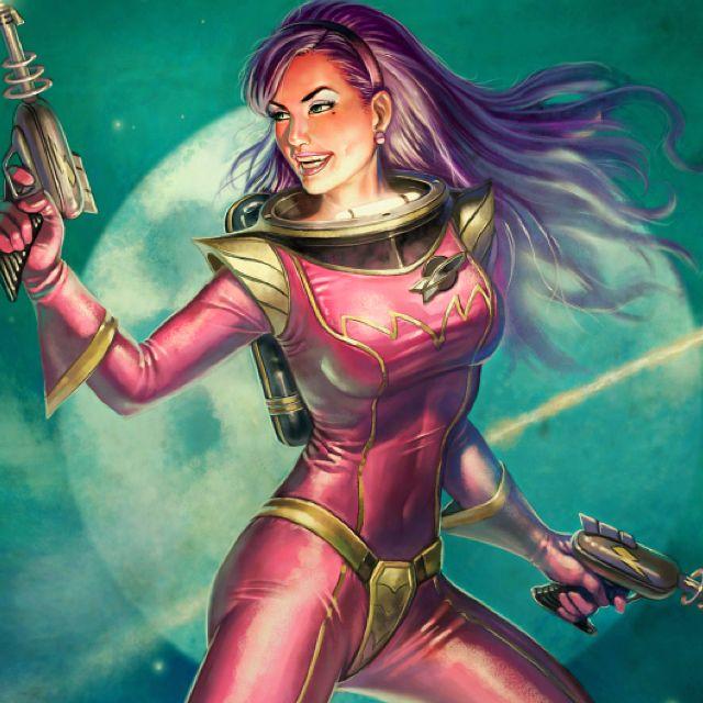 Sci-Fi Girl 4 by Tracesl DAZ|Studio Science Fiction