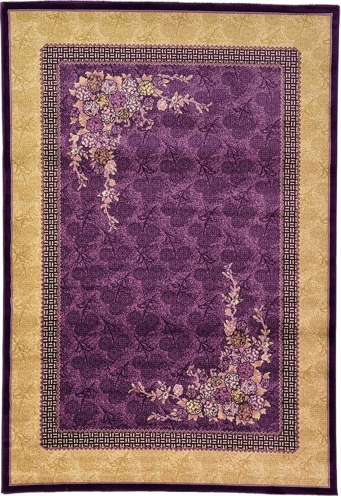 versailles purple area rug