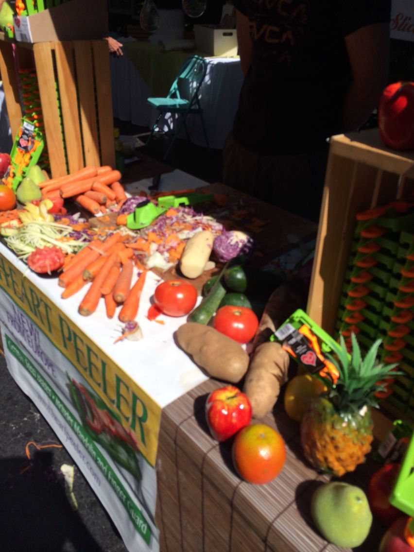 Those who still cook or prepare salads will live his gadget. You can find his stand at PineCrest Gardens Fresh Market on Sundays.