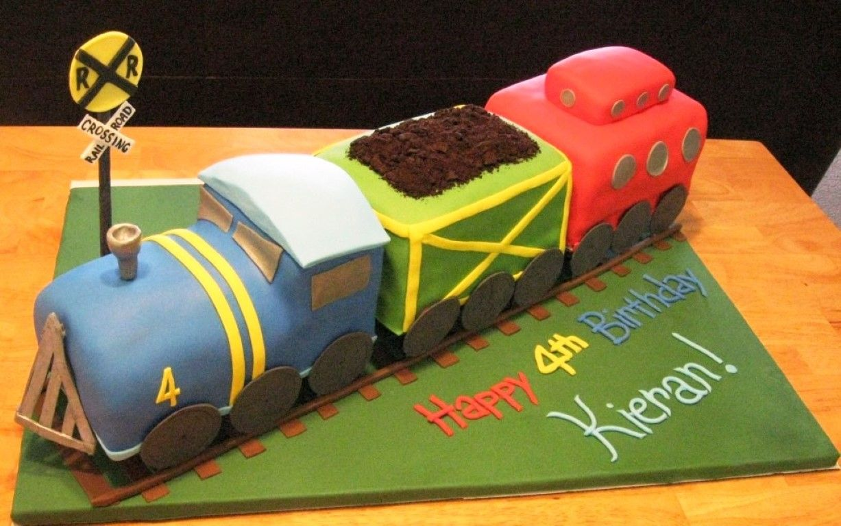 Train Cakes Designs Ideas Train Birthday Cakes With Images