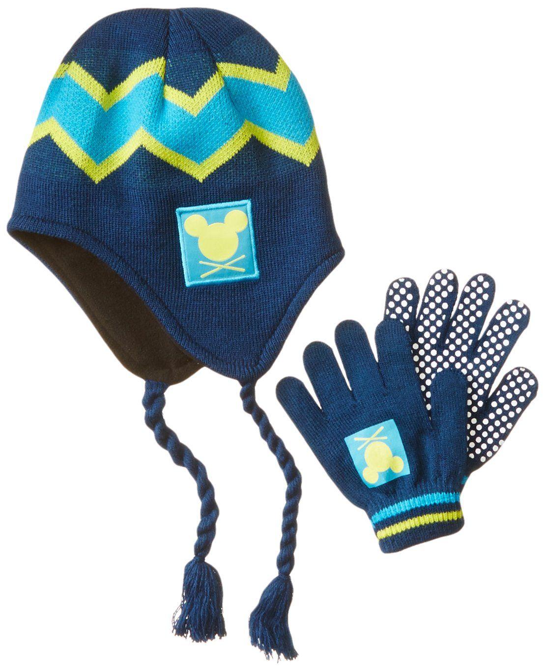 0561a1363ac Disney Little Boys  Mickey Peruvian with Glove Set