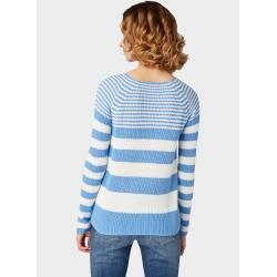 Photo of Reduzierte Strickpullover für Damen #knittedsweaters Tom Tailor Damen Gestreift…