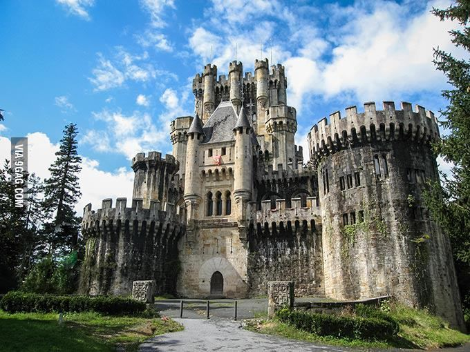 Butron Castle Basque Country Spain Currently On Sale For 3 5