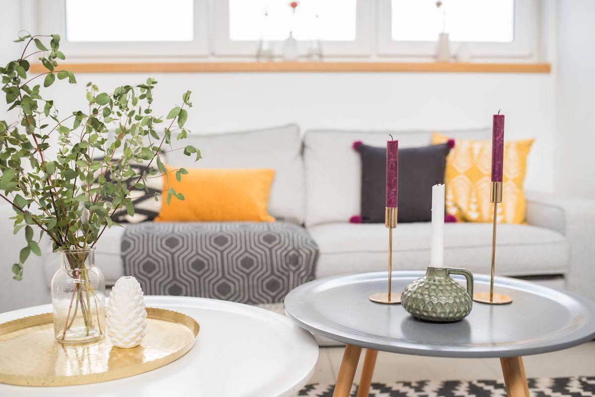 Deko Ideen für das Wohnzimmer im Herbst im Boho vintage Look | Ideas ...
