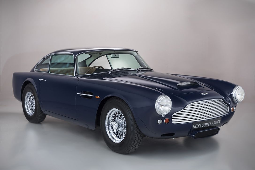 1959 aston martin db4 the demonstration car that was used in the