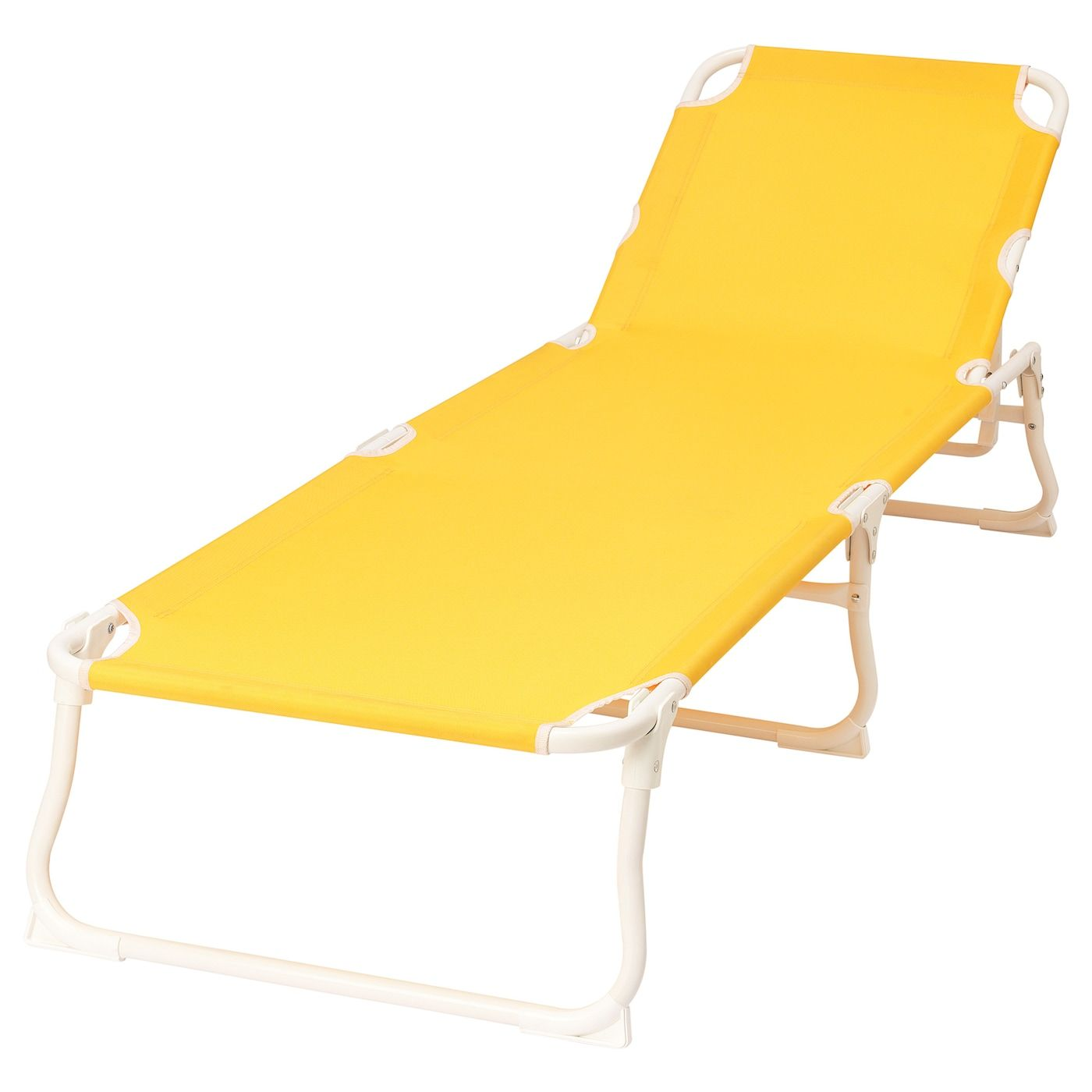 HÅMÖ Chaise - yellow - IKEA  Sun lounger, Outdoor folding chairs