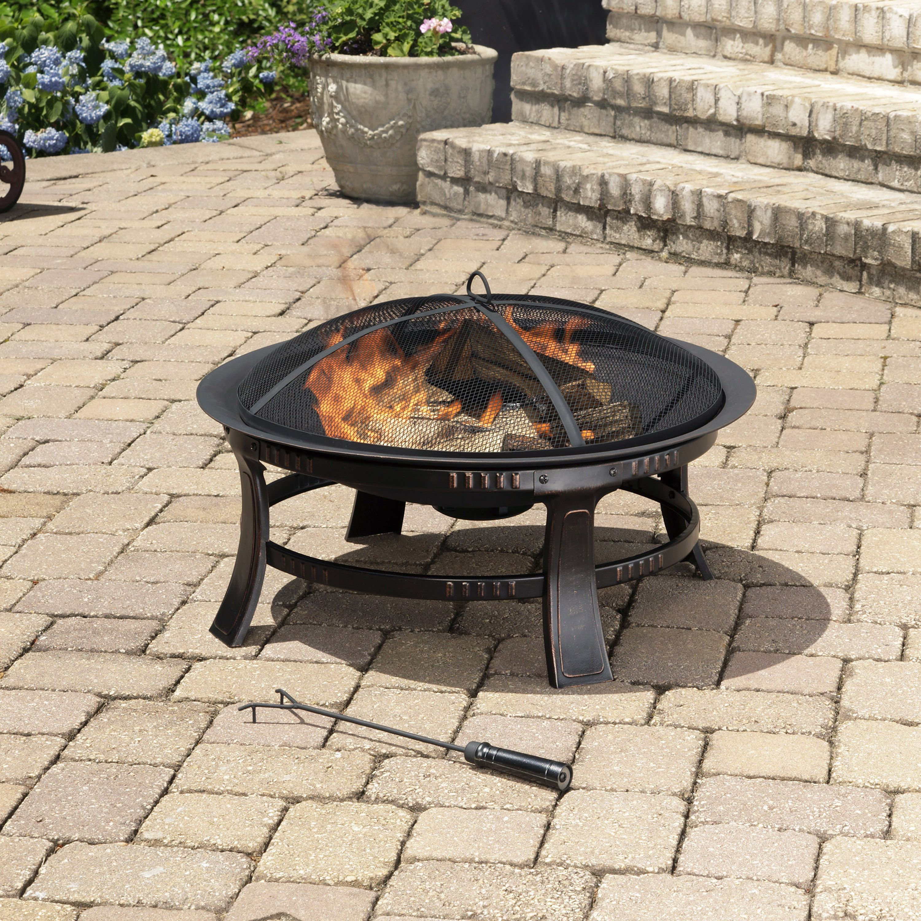 stay pleasant with the brant fire pit you can find all of our
