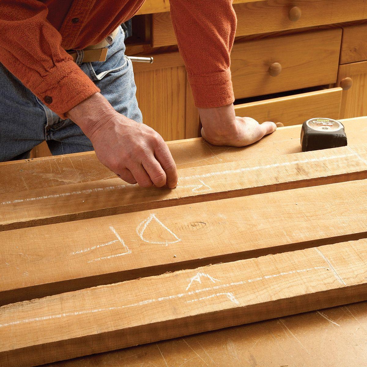 Flattening Rough Sawn Wood Wood Tips Layout