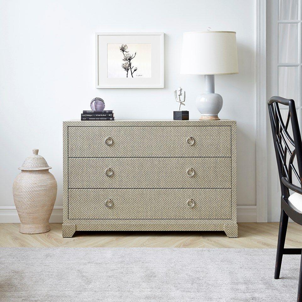 Bradley Grey Tweed Dresser