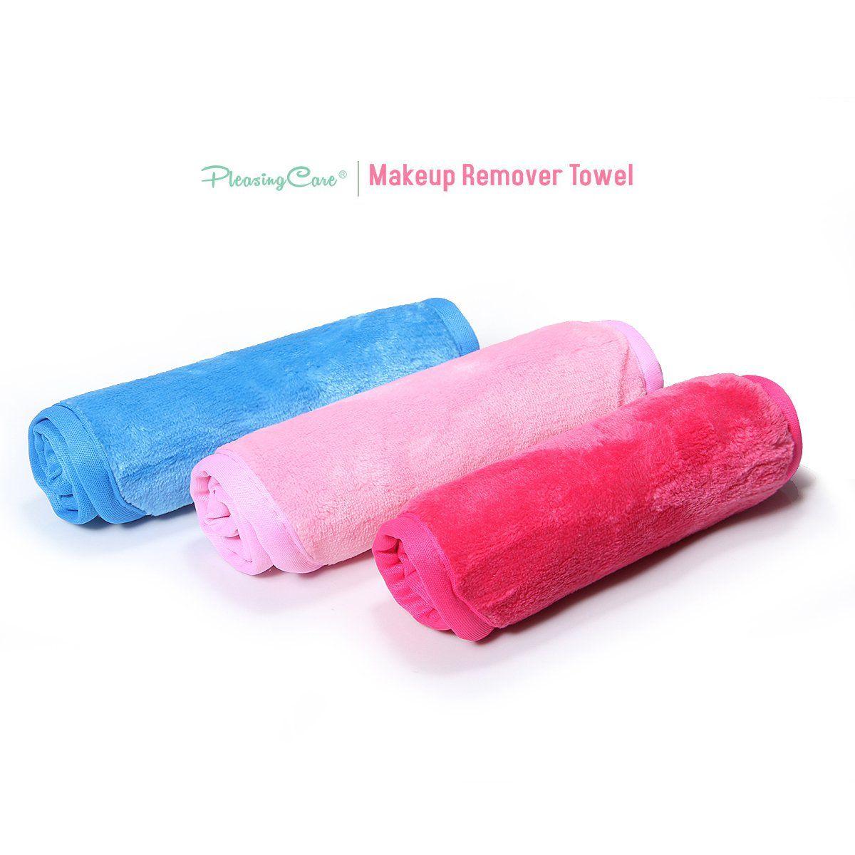Makeup Remover Cloth Clean Towel Reusable Facial Cleansing