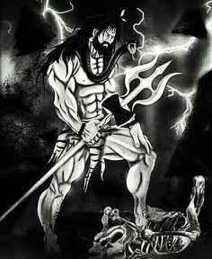 lord shiva with chillum
