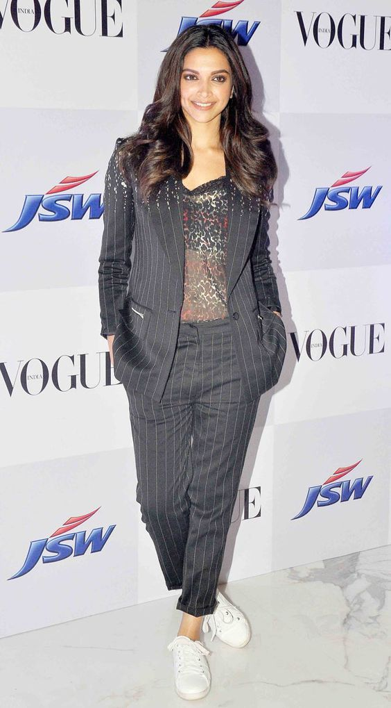 Deepika Padukone at the launch of a short film at #VogueEmpower event: