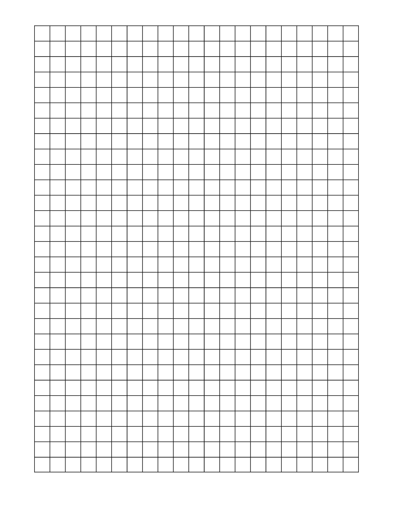 New Free Grid Paper Printable #exceltemplate #xls #