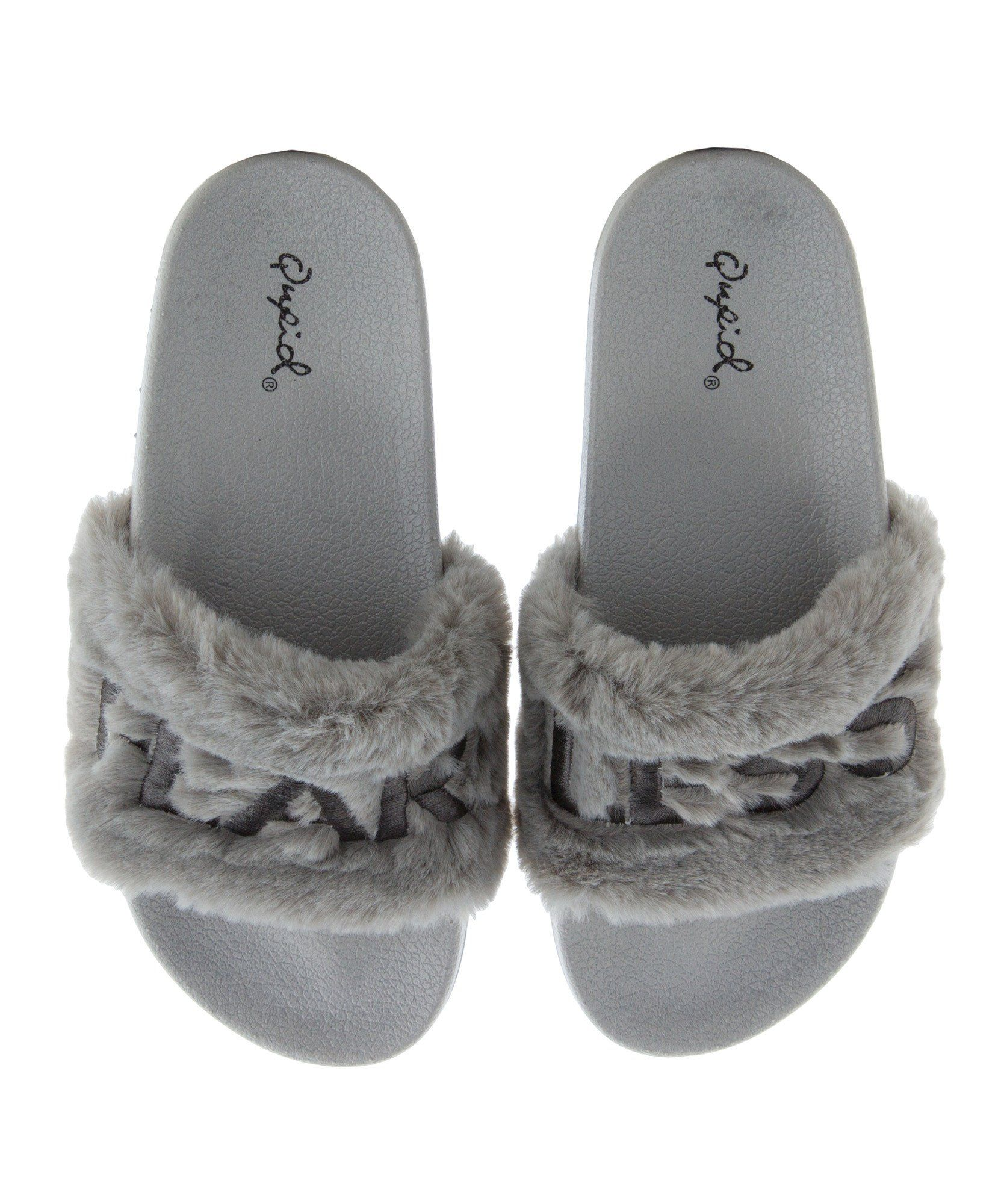 Black qupid sandals