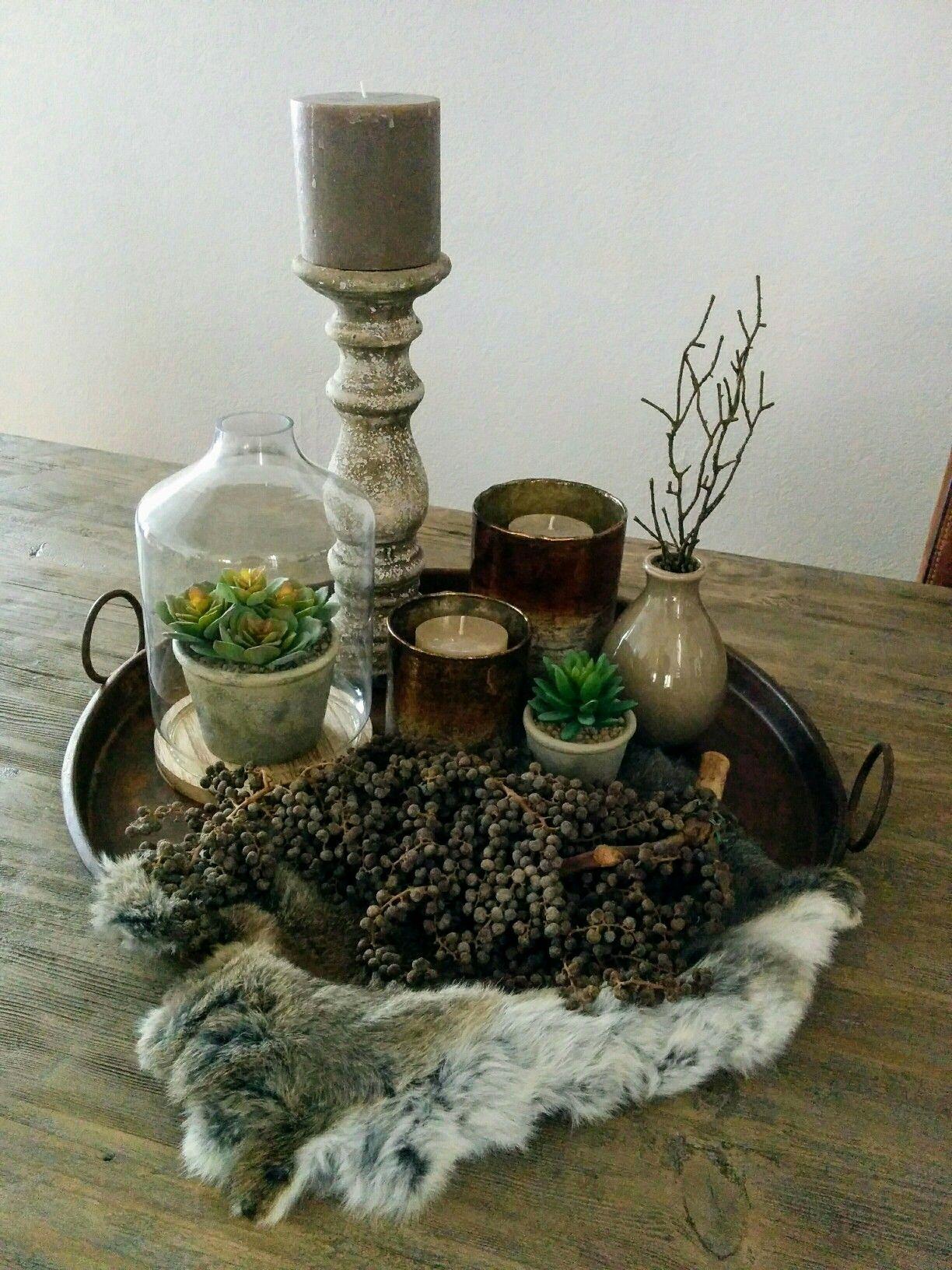Photo of Decoratiebord eettafel