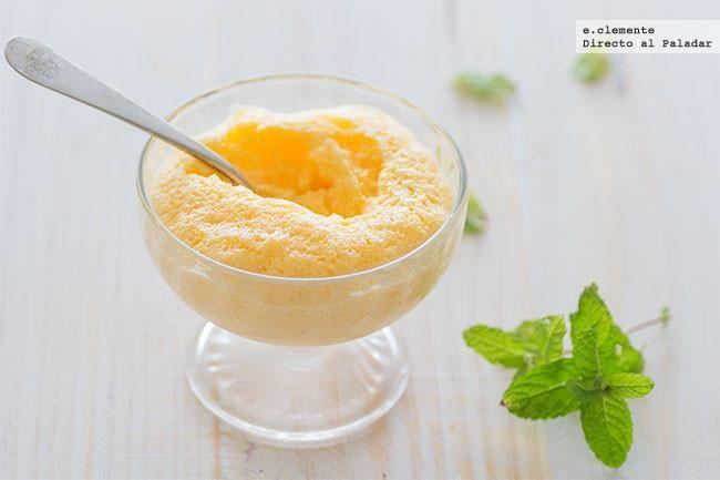 Mousse de limoncello