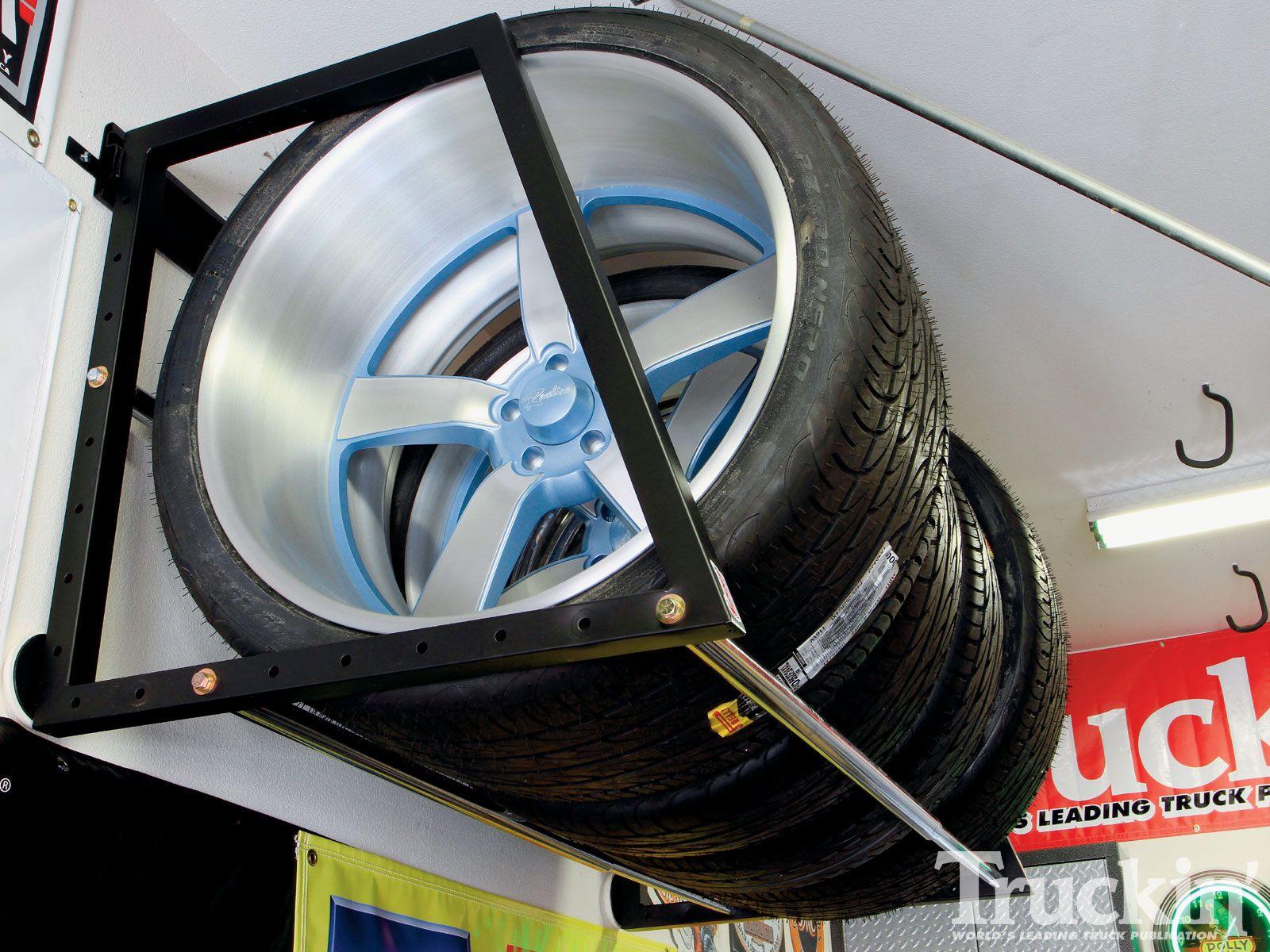 Garage Overhaul Summit Racing Truckin Magazine Tire Storage