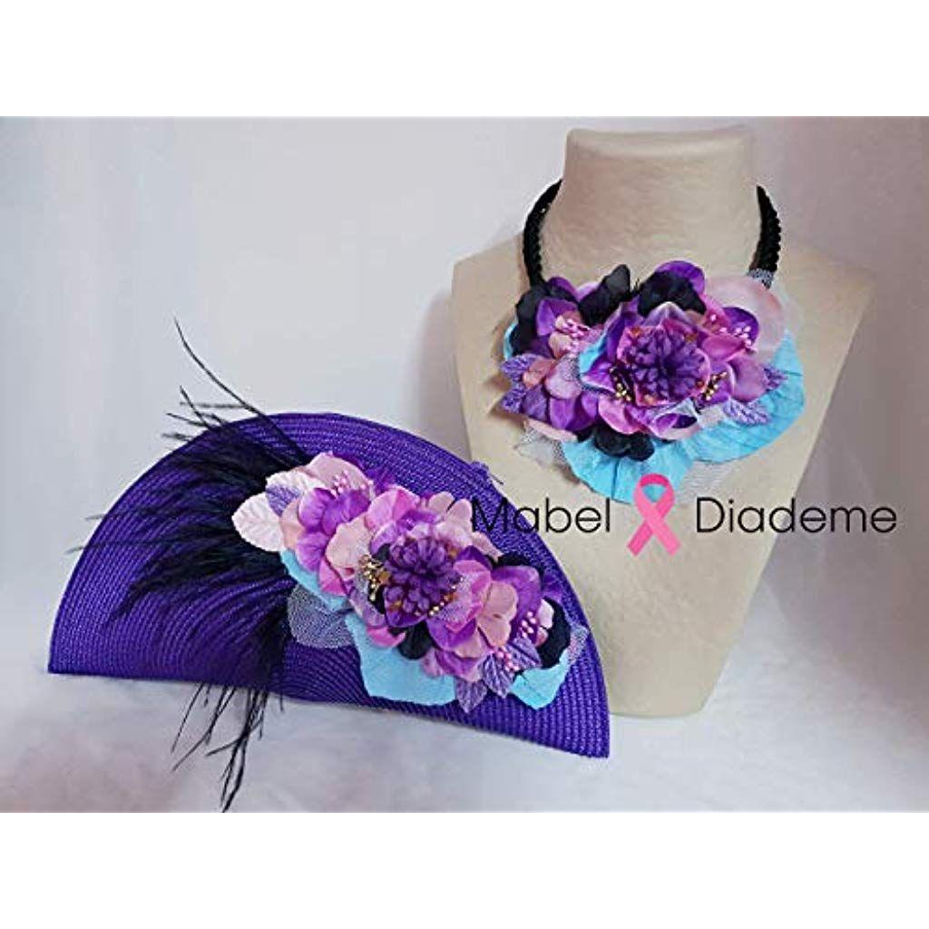 f309266da Mabel Diademe conjunto collar y bolso de mano cartera eventos bodas  comunion bautizo complementos invitada novia