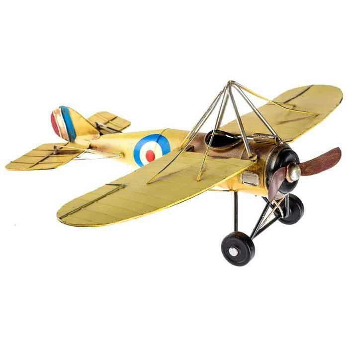 Yellow morane metal airplane also red tri plane wall decor renovation ideas pinterest rh