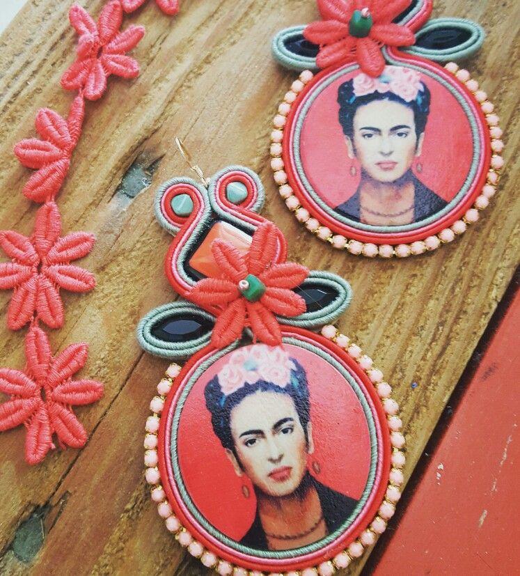 Frida collection earrings handmade by KIMA