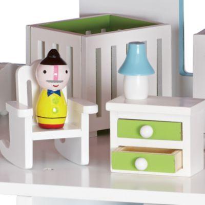 Cottage Dollhouse Nursery
